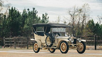"1909 Rolls Royce Silver Ghost Roi des Belges ""The Silver Fairy"" in the style of Barker, estimate $1,000,000 - $1,250,000"