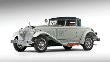 1930 Isotta Fraschini 8A S Boattail Cabriolet