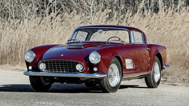 1956 Ferrari 410 Superamerica Series I Coupe (Estimate: $5,000,000-$6,000,000)