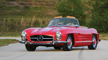 1957 Mercedes Benz 300 SL Roadster, estimate $1,000,000 - $1,200,000