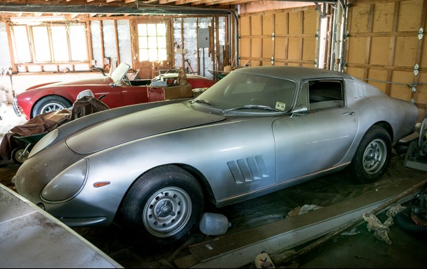 Sale Barn Find Ferrari and Shelby