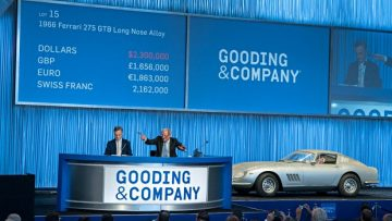 1966 Ferrari 275 GTB Long Nose Alloy SOLD