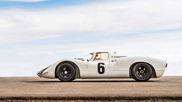 1968 Porsche 908 K Profile