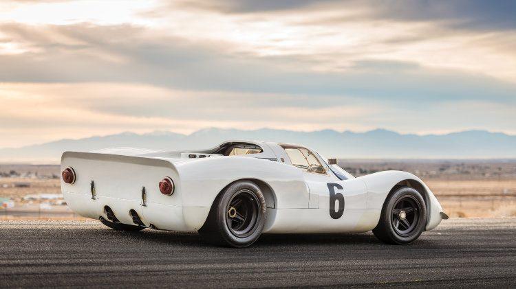 1968 Porsche 908 K side rear