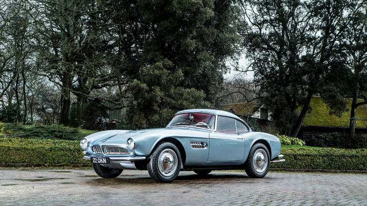 John Surtees' 1957 BMW 507 Roadster