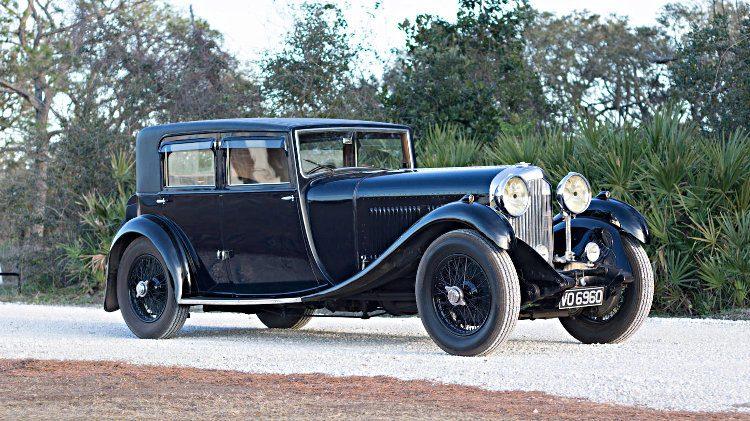 1931 Bentley 8-Liter Saloon with coachwork by Vanden Plas