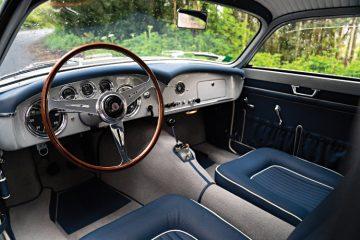 1956 Maserati A6G-2000 Zagato Berlinetta Interior