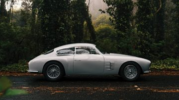 1956 Maserati A6G-2000 Zagato Berlinetta Side Profile