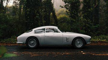 1956 Maserati A6G-2000 Zagato Berlinetta Side Profile