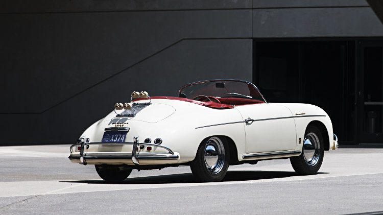1956 Porsche 356 A 1600 S Speedster Rear Quarter