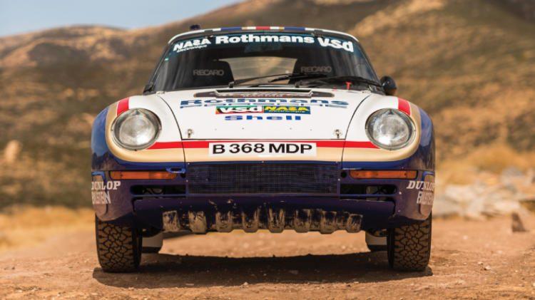2018 Rm Sothebys Porsche Atlanta Sale 959 Paris Dakar