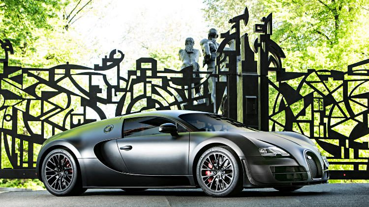 2012 Bugatti Veyron Super Sport (estimate $2.3-2.4 million)