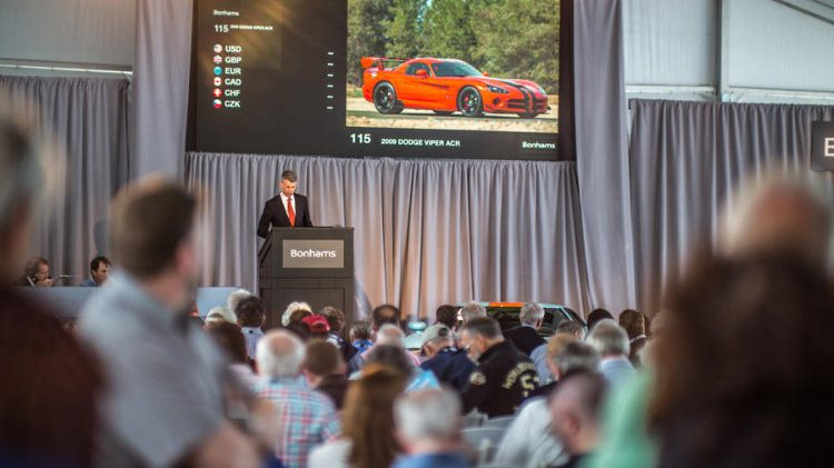 Bonhams Greenwich Concourse d'Elegance Sale 2018