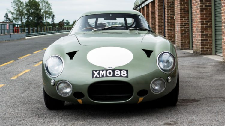 1963 Aston Martin DP215 Grand Touring Competition Prototype front