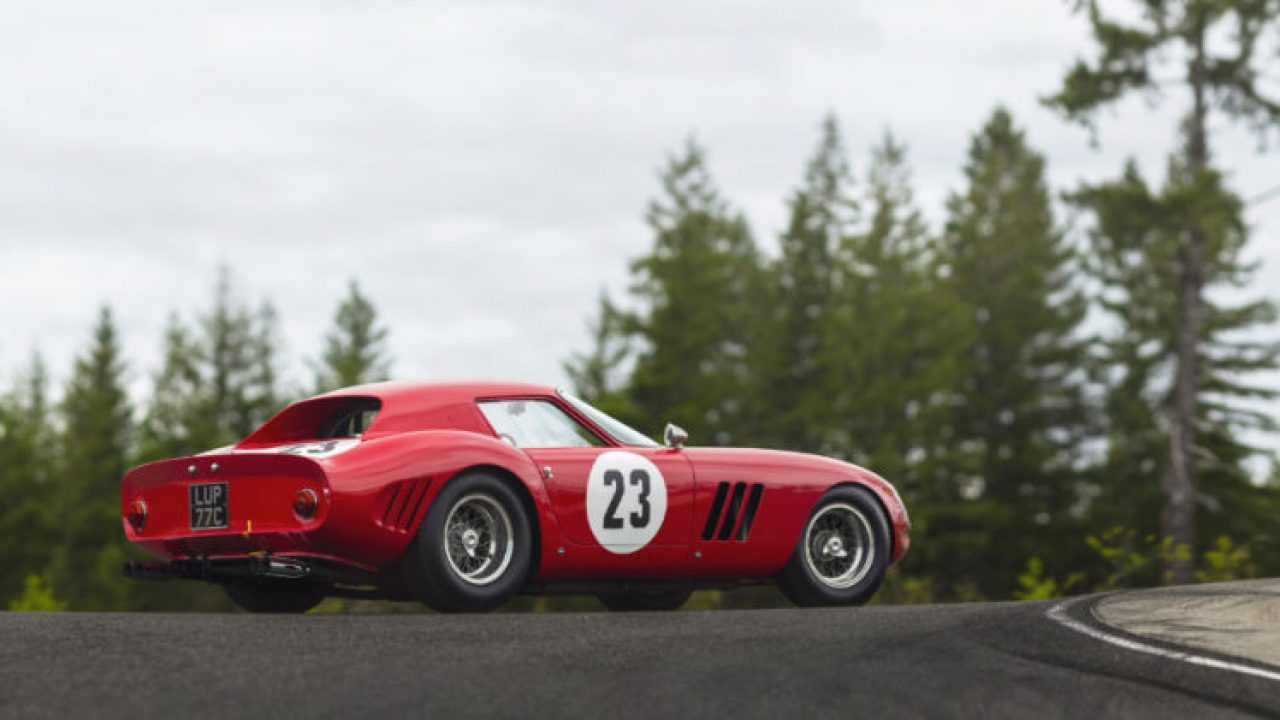 Most,Expensive Car Ever 1962 Ferrari 250 GTO