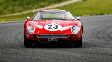 1962 Ferrari 250 GTO, chassis 3413 GT, from front