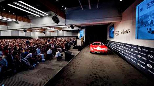 1962 Ferrari 250 GTO Monterey Auction