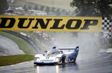 1983 Porsche 956-110 at Brands Hatch