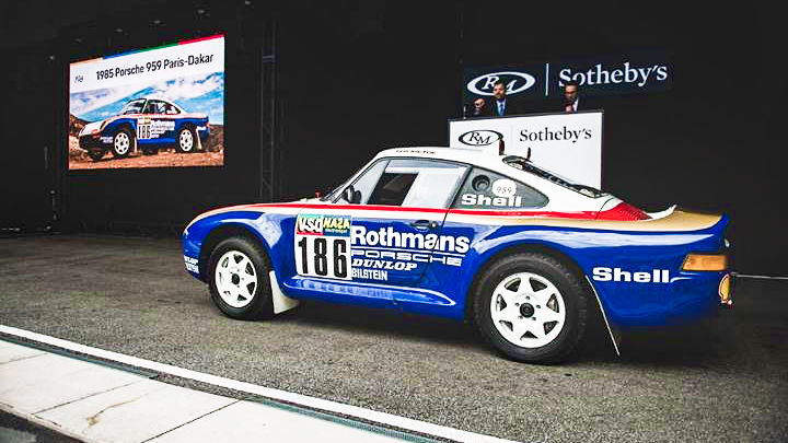 1985 Porsche 959 Paris Dakar at Auction