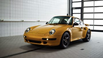 "2018 Porsche 911 Turbo Classic Series ""Project Gold"""