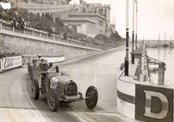 1931 Bugatti Type 51 at Monaco