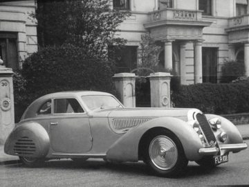 1939 Alfa Romeo 8C 2900B Touring Berlinetta in 1949