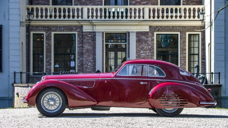 1939 Alfa Romeo 8C 2900B Touring Berlinetta Profile