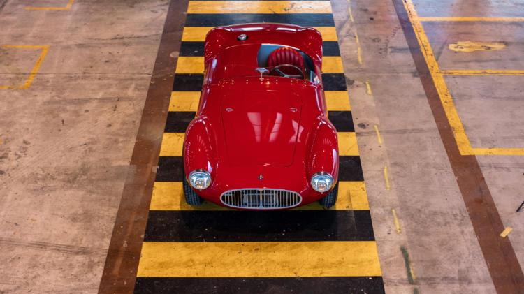 1953 Maserati A6CGS by Fantuzzi