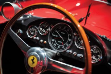 1956 Ferrari 290 MM Dashboard