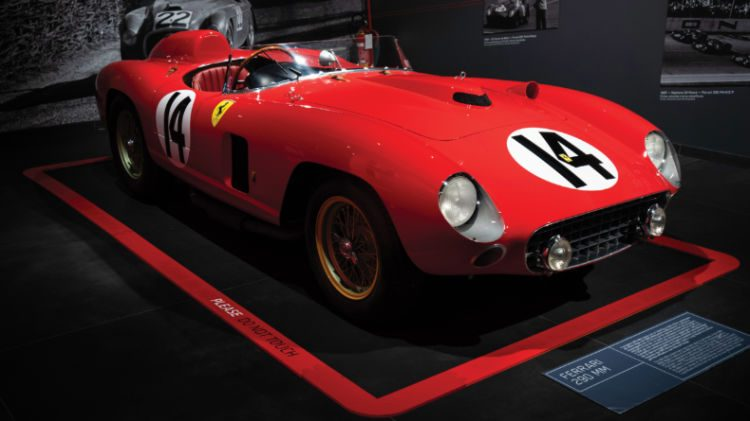 1956 Ferrari 290 MM Front Quarter
