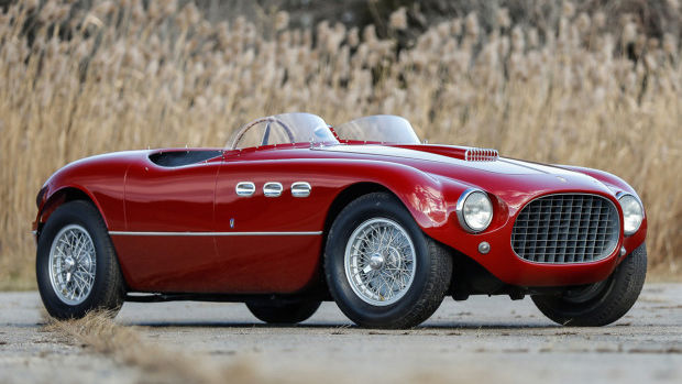 1953 Ferrari 250 MM Spider Series II (Estimate: $5,500,000 – $6,500,000)