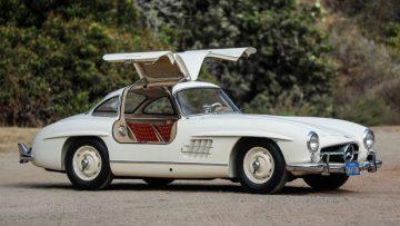 1955 Mercedes-Benz 300 SL Gullwing (Estimate: $1,100,000 – $1,400,000)