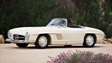 1957 Mercedes-Benz 300 SL Roadster (Estimate: $900,000 – $1,200,000)