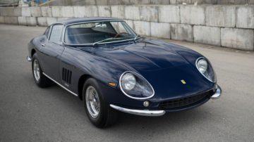Blue 1967 Ferrari 275 GTB/4