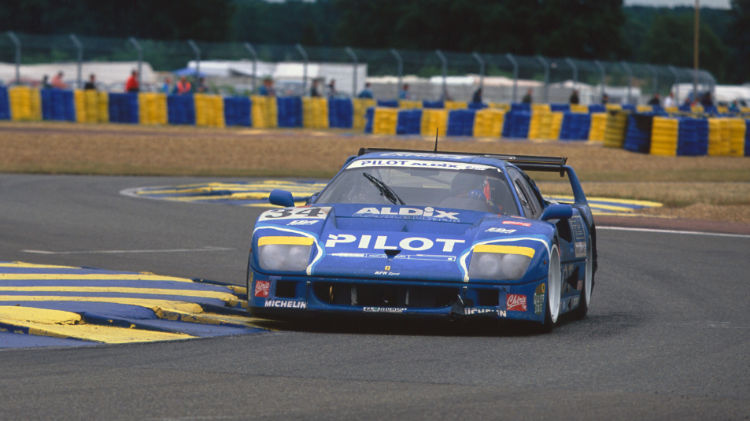 1987 Ferrari F40 LM at Le Mans 1995