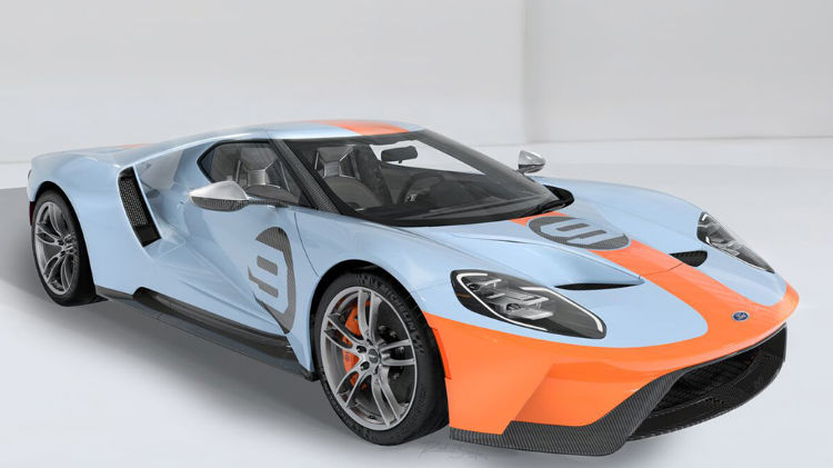 2019 Ford GT Heritage Edition VIN001