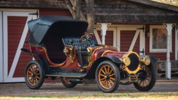 1909 Delaunay-Belleville Type IA6 Victoria by Brewster (Darin Schnabel ©2018 Courtesy of RM Sotheby's)