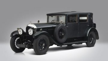 1928 Bentley 6½ Litre Four Light Weymann Fabric Sports Saloon