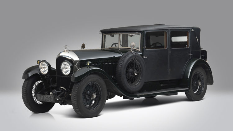 1928 Bentley 61:2 Litre Four Light Weymann Fabric Sports Saloon