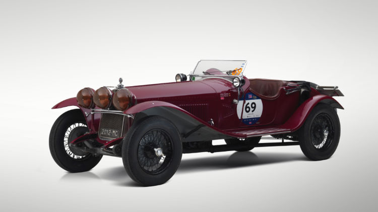 1930 Alfa Romeo 6C 1750 4th Series Supercharged Gran Sport Spider