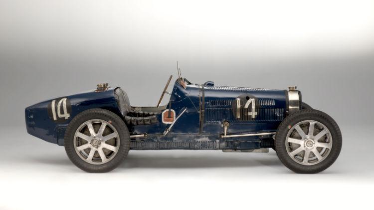 1931 Bugatti 51 Grand Prix Profile