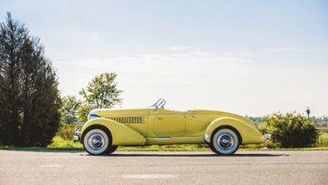 1935 Auburn Eight Custom Speedster (Theodore W. Pieper © 2018 Courtesy of RM Sotheby's)