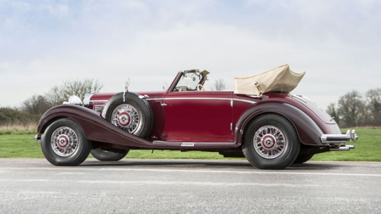 1939 Mercedes-Benz 540 K Cabriolet A © Courtesy of Bonhams