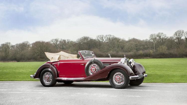 1939 Mercedes-Benz 540 K Cabriolet A