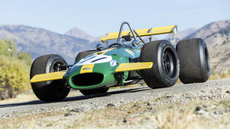1969 Brabham-Cosworth BT26A Front Quarter