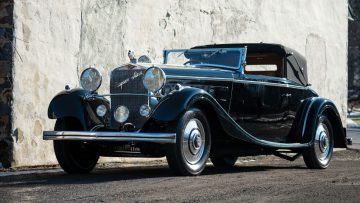 1926 Hispano-Suiza H6B Cabriolet Le Dandy by Chapron