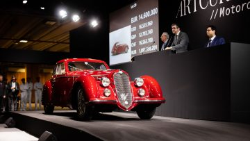 1939 Alfa Romeo 8C 2900B Touring Berlinetta at Auction