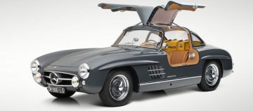 1955 Mercedes-Benz 300 SL Gullwing Coupé sold for €1,207,500