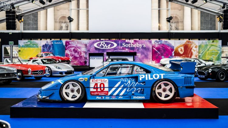 1987 Ferrari F40 LM at RM Sotheby's Paris Auction 2019