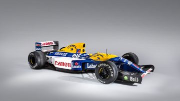 1992 Williams-Renault FW14B Formula 1